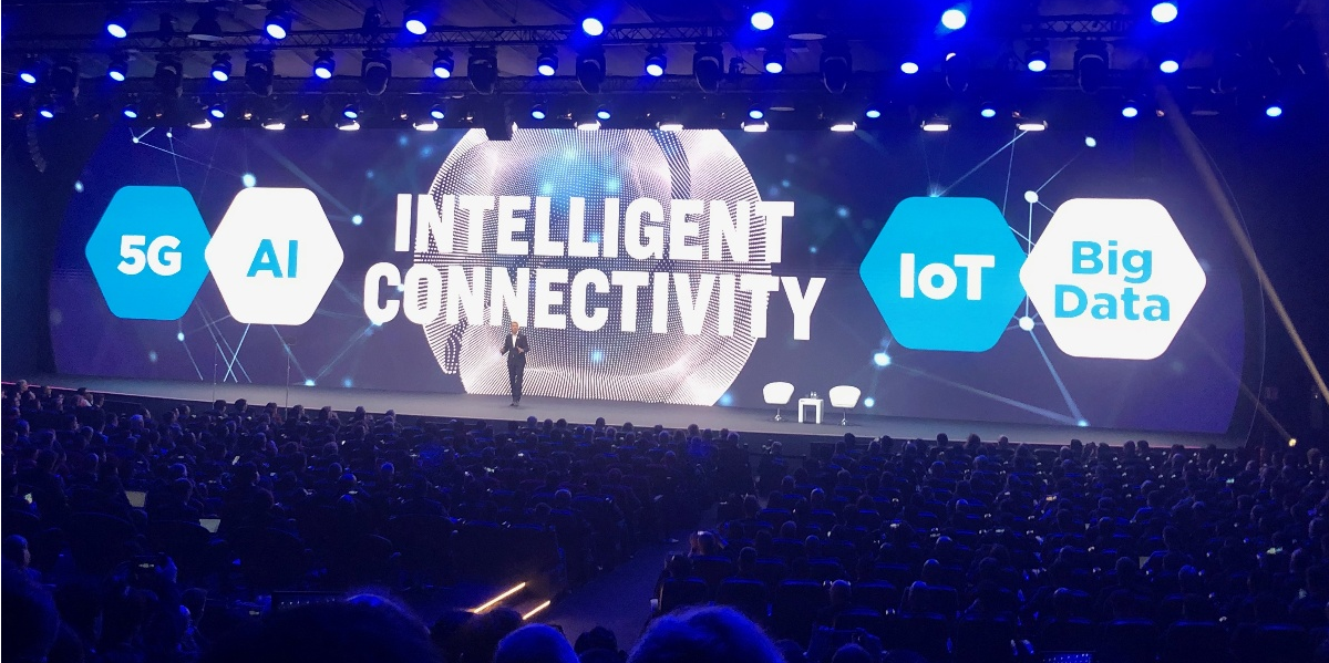 Mobile World Congress – Day 1 it's all about Intelligent Connectivity
