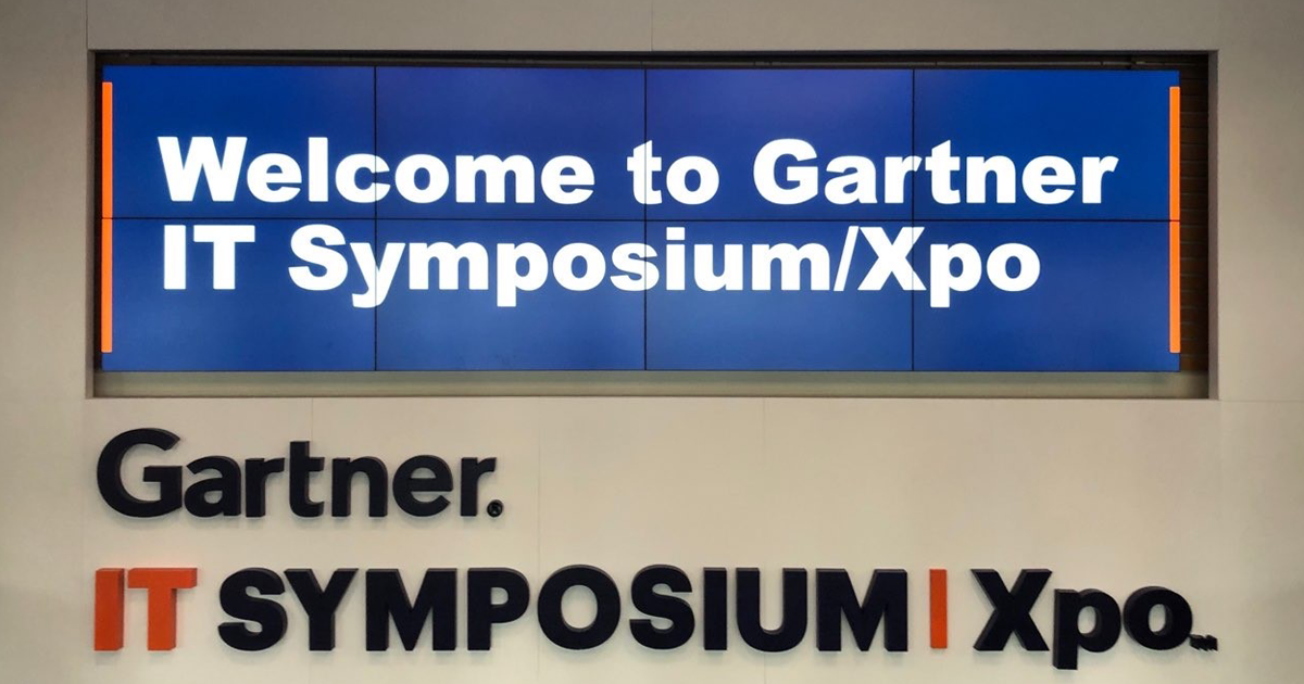 Gartner IT Symposium / Xpo - Day 1