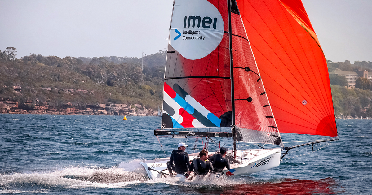 imei 16ft skiff wins the NSW State Titles
