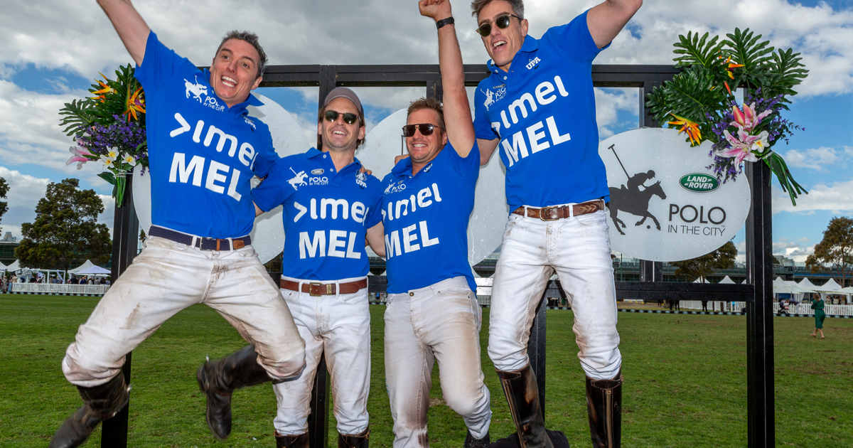 imei MELBOURNE takes the win in the 3rd game of the World Series Urban Polo