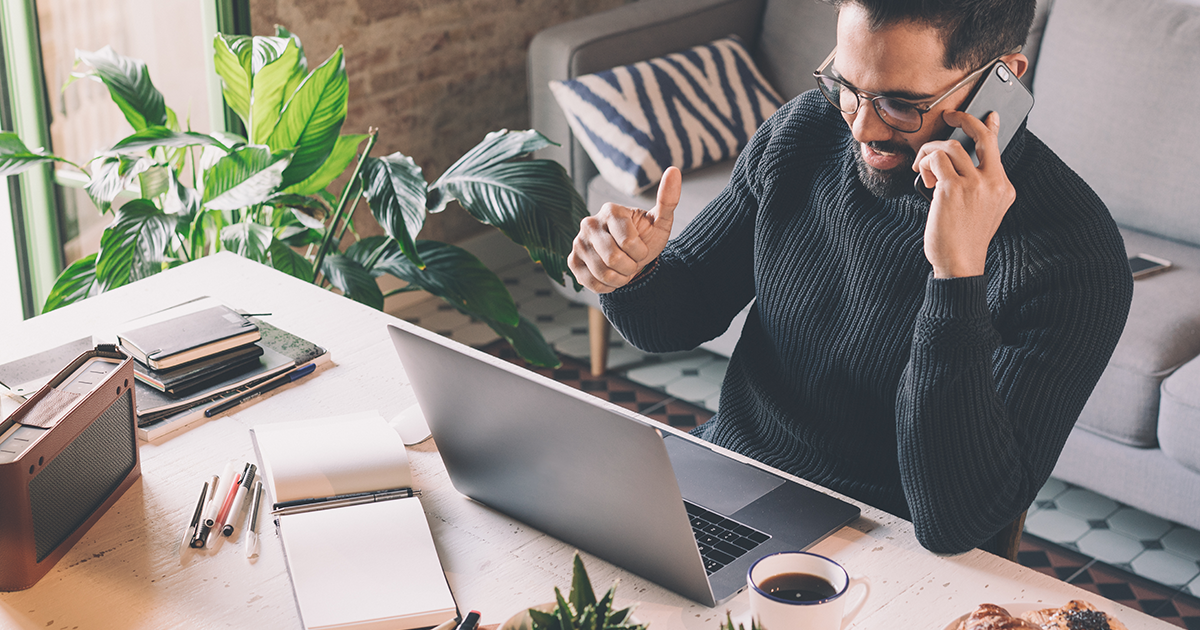 Find the right formula for WFH flexibility with UCaaS