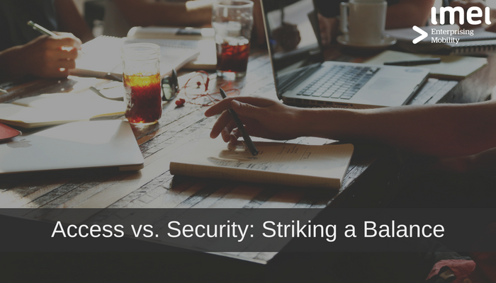 Access vs. Security: Striking a Balance