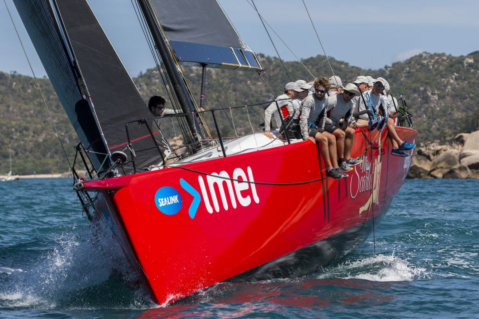 "imei's ""Miss Scarlet"" racing hard at Magnetic Island Race Week"